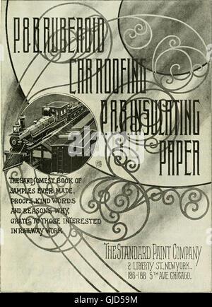Locomotora ingeniería - una práctica oficial de potencia motriz ferroviaria y el material rodante (1895)