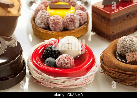 tortas de pastel torta Foto de stock