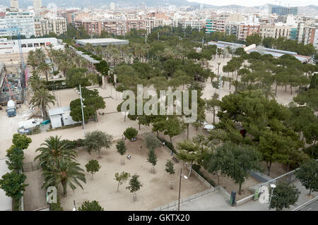 Parc de Joan Miró, Barcelona, España Catalona