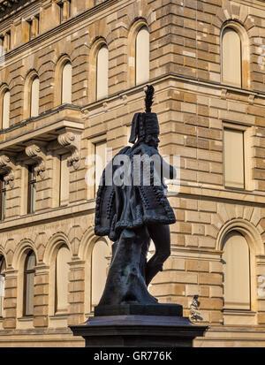 Estatua de Hans Joachim Von Ziethen en Berlín Mitte