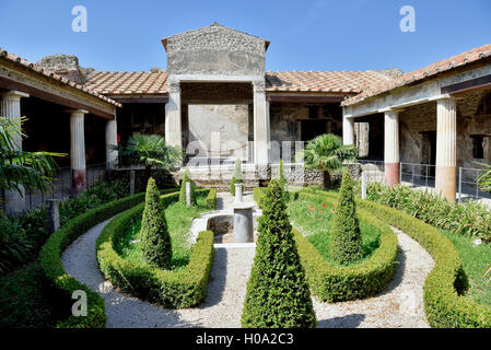 Casa de Venus, la antigua ciudad de Pompeya, Campania, Italia