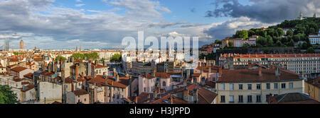 Lyon (Francia) vistas panorámicas de alta definición