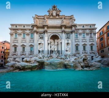 Italiano: la Fontana de Trevi (Fontana di Trevi) es un distrito en la Fontana de Trevi en Roma, Italia
