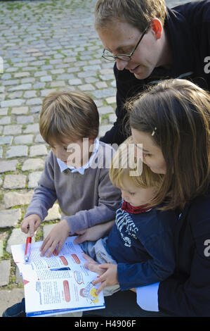 Dresde, la familia Riddle, se afloja la ciudad