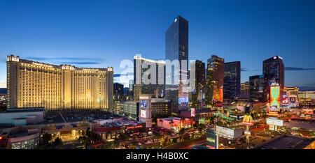Centro de la ciudad, Veer Towers, Aria Resort, Tira, South Las Vegas Boulevard, Las Vegas, Nevada, EE.UU.