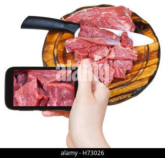 Número de teléfono de alimento Alimentos junta aislada de viajes diseño del modelo conceptual del proyecto plan proyecto turismo cámara fotográfica cocina turística