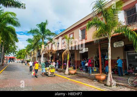 Edificios históricos, Falmouth, Jamaica, Antillas, Caribe, América Central
