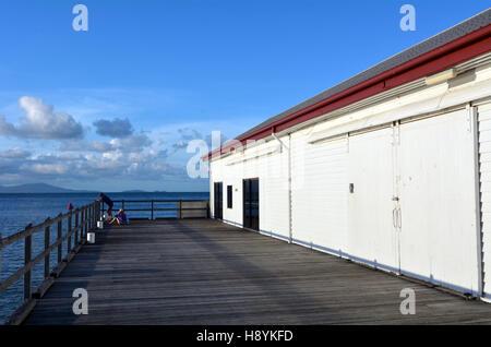 El azúcar Wharf en Port Douglas, en el extremo norte de Queensland, Australia.