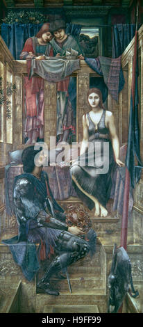 Edward Burne Jones - El Rey Cophetua y la mendiga Maid - 1884