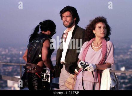 Los nómadas -Tod aus dem Nichts, USA 1986 Director: John McTiernan actores/Estrellas: Lesley-Anne Down, Pierce Brosnan, Anna Maria Monticelli