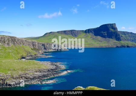 Waterstein Head, Isla de Skye Foto de stock