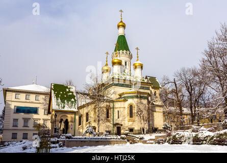 La Iglesia rusa de San Nicolás en Sofia - Bulgaria