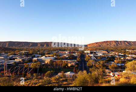 Alice Springs, el Territorio del Norte, Australia Foto de stock