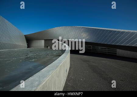 Acuario de Dinamarca también es conocido como El Planeta Azul (Den Blå planeta) y abrió sus puertas en Kastrup fuera de Copenhague en 2013. La parte superior-moderno buildi