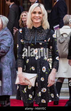 Londres, Reino Unido. 15 de marzo de 2017. Jenni Falconer atiende el Prince's Trust celebrar los éxitos Awards en el Palladium de Londres.