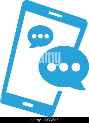 Aplicaciones en smartphones, el concepto de desarrollo móvil, ilustración vectorial