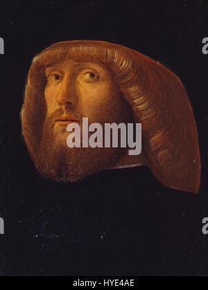 Giovanni Bellini un hombre barbado Google Art Project