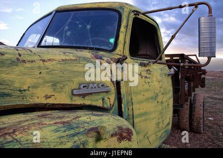 Vintage GMC truck.