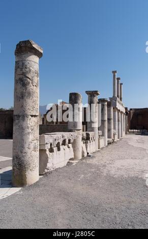 Ruinas de Pompeya, Sitio del Patrimonio Mundial de la UNESCO, la región de Campania, Italia