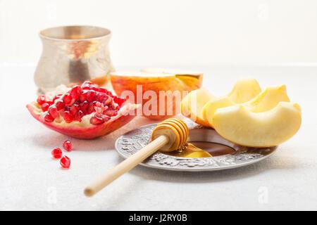 Las manzanas, Granados y miel para Rosh Hashaná