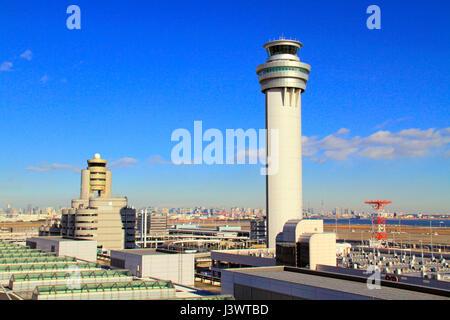 Torre de Control del Aeropuerto de Haneda Tokyo Japón