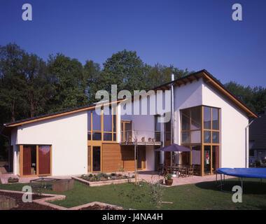 Vivienda Unifamiliar Moderno Jardín Casa Residencial