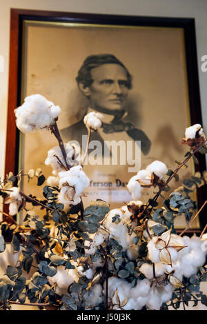Alabama Montgomery County, Montgomery, Primera Casa Blanca de la Confederación, Jefferson Davis, Guerra Civil, fotografía, antigüedad, historia, Sur, casa presidencial