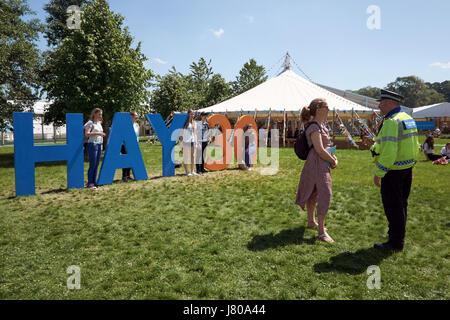 El festival de heno, de 30 años de ahora en 2017