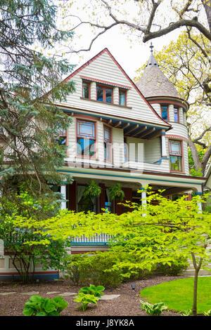 Chicago Illinois En Oak Park 215 Forest Avenue Era Del