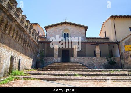 Iglesia de San Severino. Spello. La Umbría. Italia.