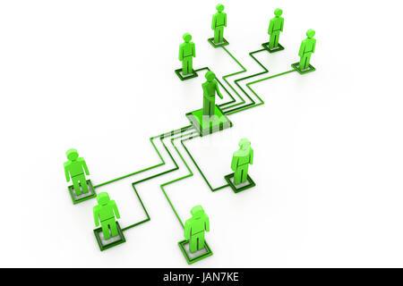 La red de negocios
