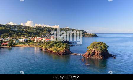 Puerta del puerto de Castries. Castries es la capital de la isla caribeña de Santa Lucía, una de las Islas de Barlovento en las Indias Occidentales.