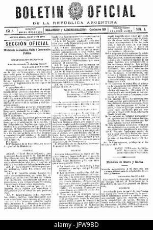 Boletín oficial de la República Argentina