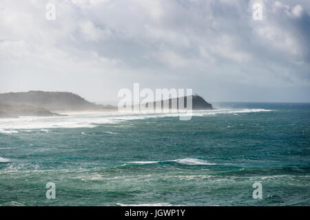 75 mile beach visto desde Cabeza de Indio. La Isla Fraser, Queensland, Australia