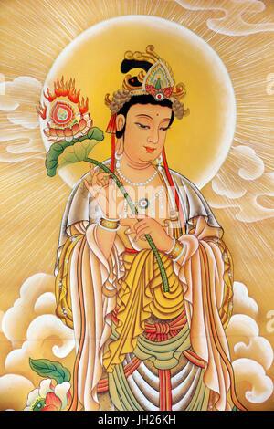 Kong Meng San Phor Kark Véase Monasterio. Bodhisattva. Singapur.