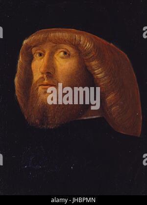 Giovanni Bellini - un hombre barbado -