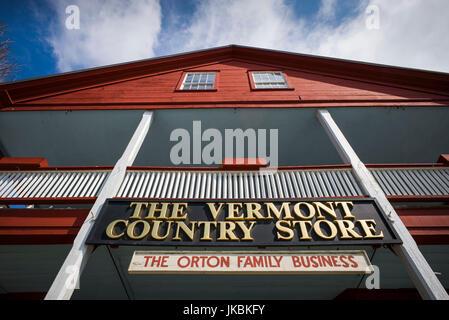Ee.Uu., Weston, el Vermont Country Store, exterior