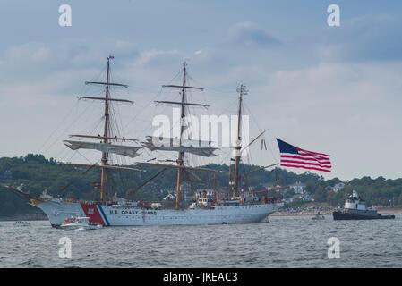 Estados Unidos, Massachusetts, Cape Ann, Gloucester, la más antigua de América del Seaport, Festival Anual de la Foto de stock