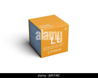 Litio metales alcalinos elemento qumico de la tabla peridica de elemento qumico de la tabla peridica de mendeleyev litio en urtaz Images