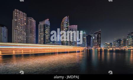 Dubai Marina paisaje urbano