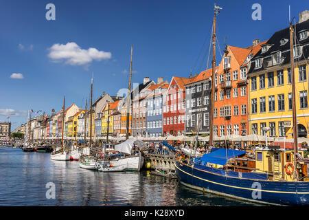 Nyhaven Inner Harbor en Copenhague