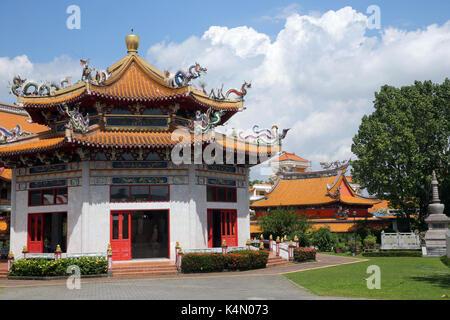 Salón de amrita preceptos, Kong Meng San phor kark véase monasterio, Singapur, sudeste de Asia, Asia
