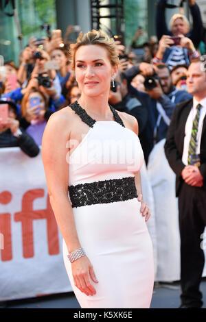 Toronto, Ontario, Canadá. 10 Sep, 2017. La actriz Kate Winslet asiste a 'La Montaña entre nosotros' estreno durante Foto de stock