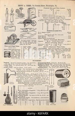 Dreer trimestral lista de precios al por mayor (16544587006)