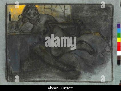 Autor Alfons Mucha 24.7.1860 14.7.1939 La llamada absint Studie zeny