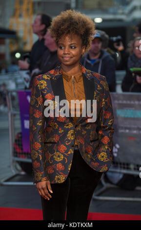 'Mudbound' estreno europeo - 61º bfi London Film Festival Foto de stock