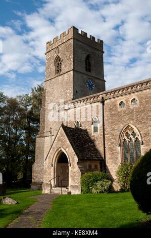 La Iglesia de Santa María, Upper Heyford, Oxfordshire, Inglaterra, Reino Unido.