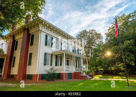 Estados Unidos, Alabama, Montgomery. Primera Casa Blanca de la Confederación, antigua residencia del Presidente Jefferson Davis.