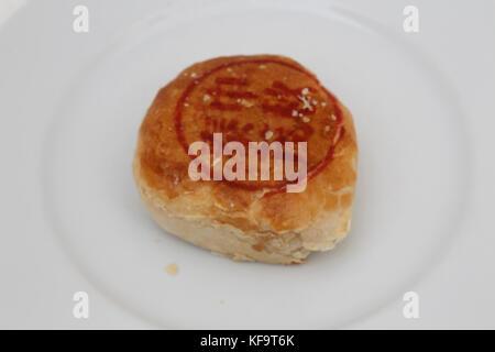 Mooncake Teochew - Salado Tau Sar con yema de huevo