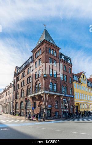 Copenhague, Dinamarca hovedstaden, en el norte de Europa.